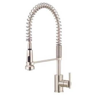 Danze D455158SS Parma Single Handle Pre-Rinse Faucet