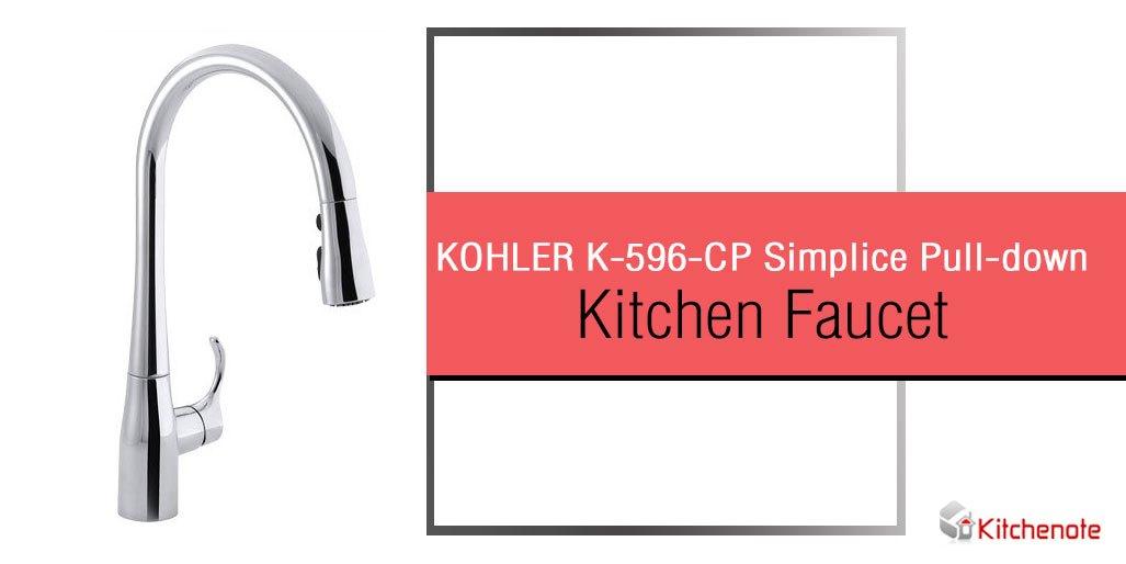 kohler k 596 cp simplice single hole
