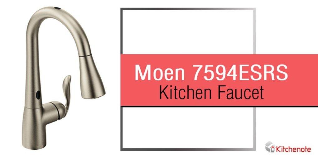 Moen 7594ESRS Arbor Kitchen Faucet