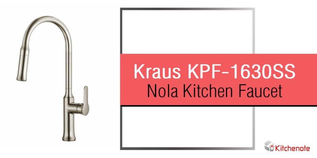 Kraus KPF-1630SS Nola Single Lever Kitchen Faucet Review