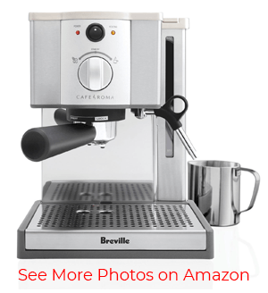 Breville ESP8XL Cafe Roma Stainless Espresso Maker – Enjoy Exceptional Espresso Flavor