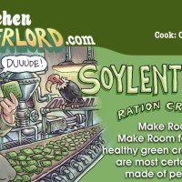 Edible Art: Soylent Green Ration Crackers