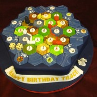 Geek Cake Friday: Top 10 Settlers of Catan Cakes