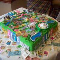Geek Cake Friday: Top 10 Edible Childhood Boardgames