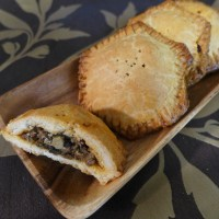 Hobbit Week: Mushroom, Onion and Garlic Hand Pie