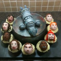 Geek Cake Friday: 11 Shiniest Firefly Cakes