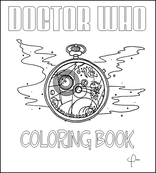 7 Free Doctor Who Fan Art Coloring Books (Plus Bonus
