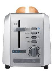Chefman 2-Slice Stainless Steel Wide Slot Toaster Defrost