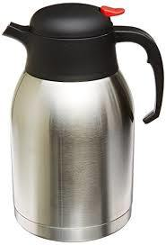 Genuine Joe GJO11956 Stainless Steel Everyday Double Wall Vacuum Insulated Carafe