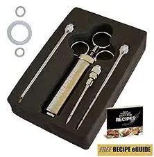 Marinade Injector Meat Injector Kit 3 Needles