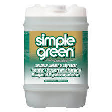 Simple Green 13006 Industrial Cleaner & Degreaser, Concentrated, 5 gal,
