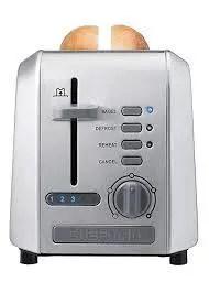 Chefman Stainless Steel 2-Slice Wide Slot Toaster