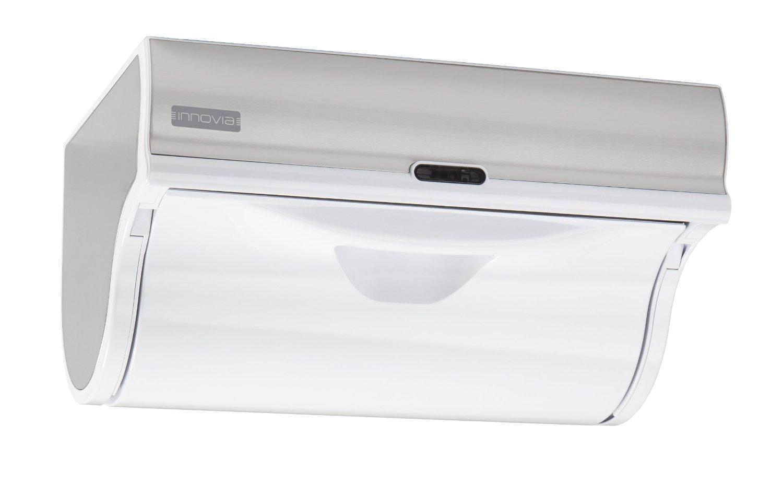automatic paper towel dispenser for kitchen hardwood floors innovia wb2 159w white