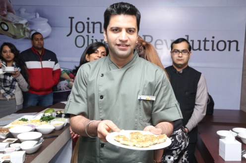 Cooking session with chef kunal kapoor