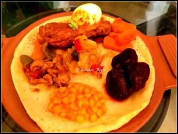 Ethipian meal