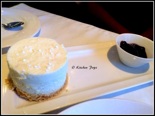 Baked New York Hazelneut Cheese Cake