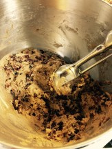 Thick batter and 2 oz scoop