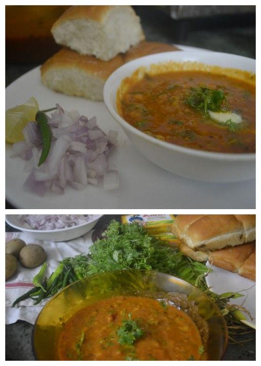 Homemade Mumbai Special Pav Bhaji
