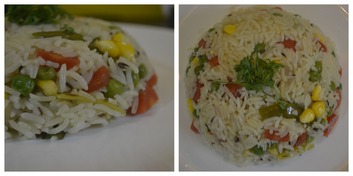 How to make easy vegetable rainbow pilaf