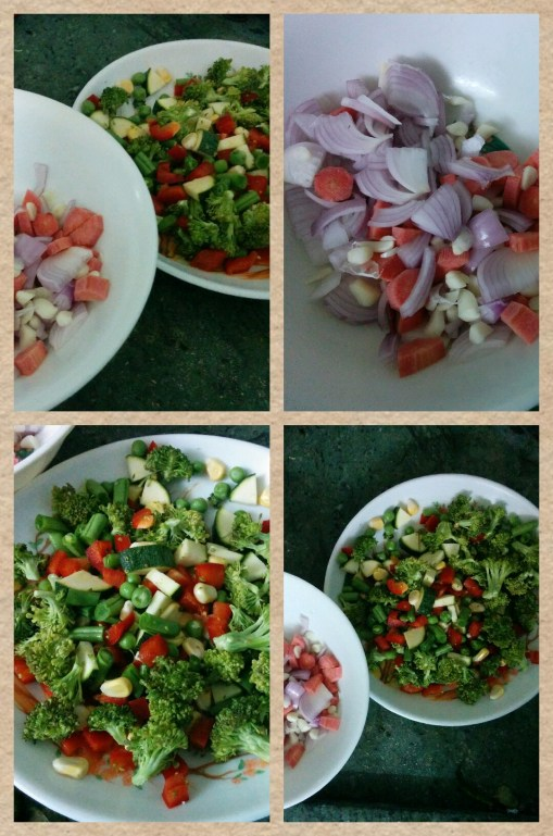 Making Minestrone soup step by step