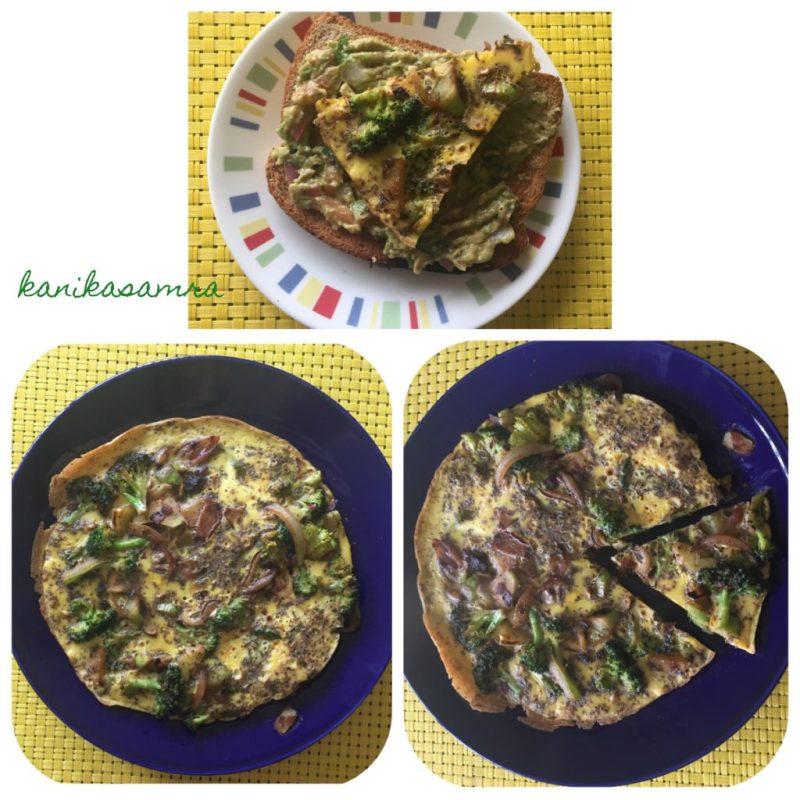 Homecooked Frittata