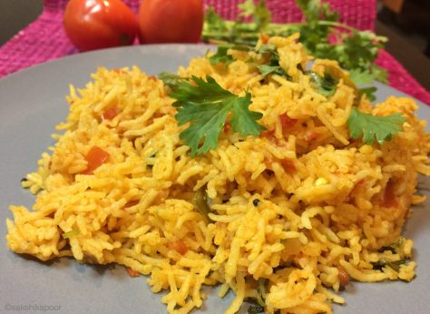 Simple Tomato Rice