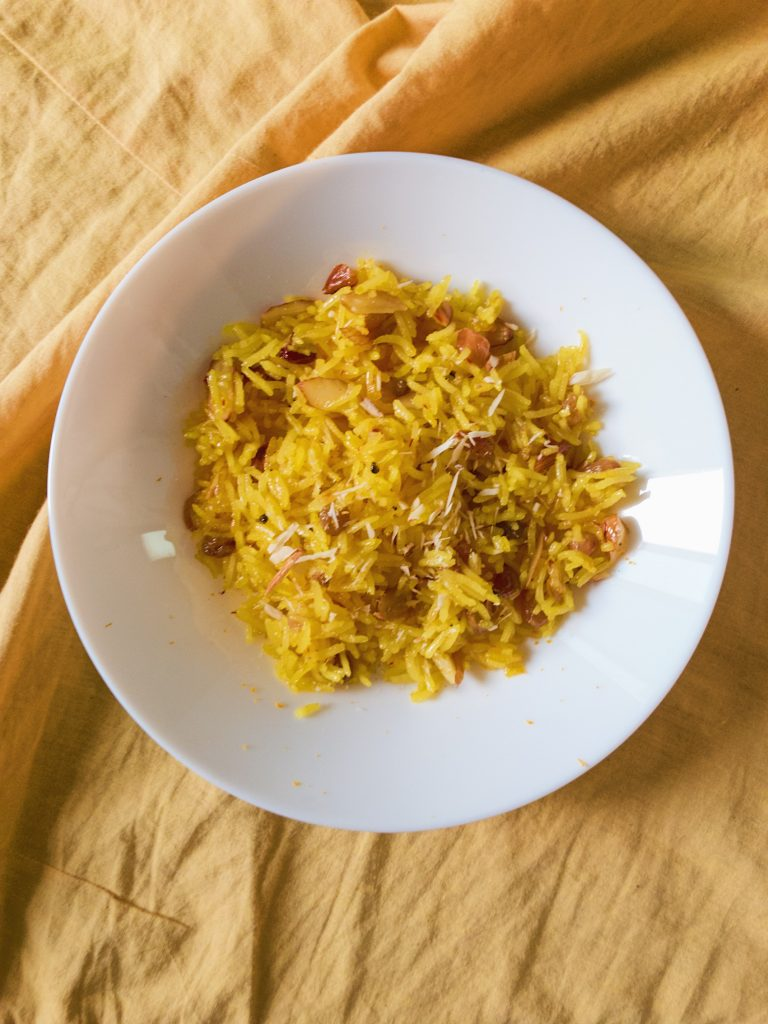 Punjabi Meetha Pulao recipe