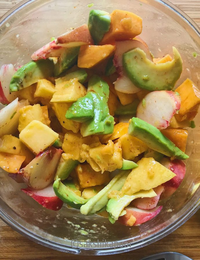 Mango Avocado Fruit Salad