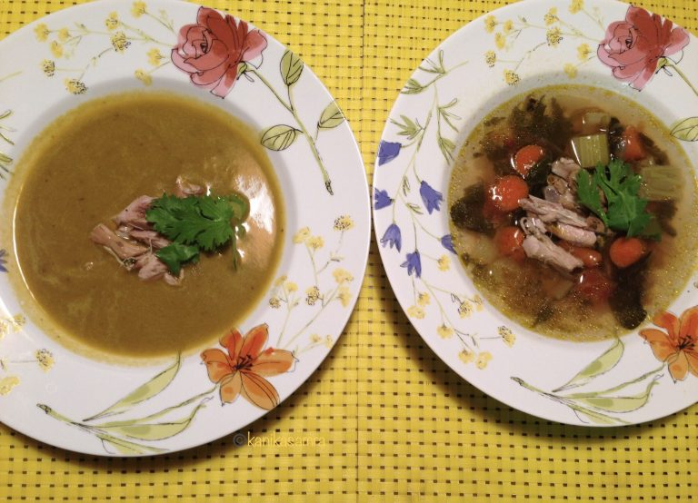 Chicken soup recipe for winters