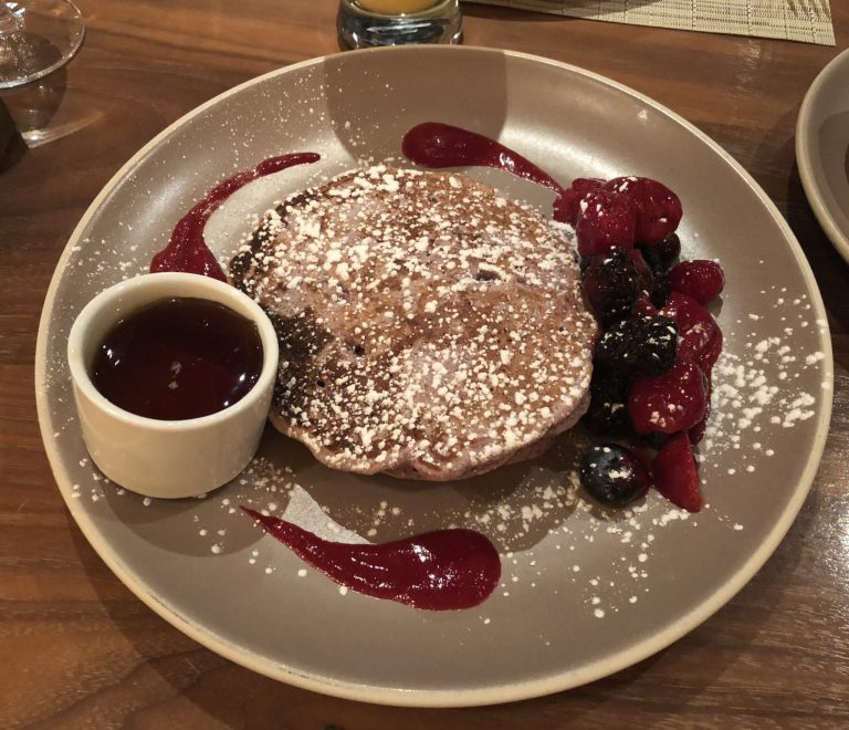 Food in Santa Fe - Blue Corn Pancakes