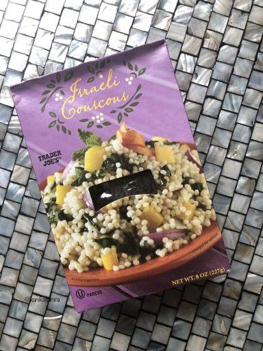 Pearl couscous or israeli couscous
