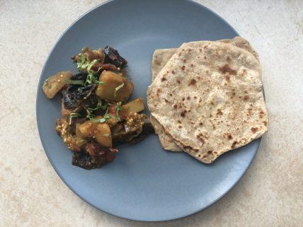 Saunf wale aloo baingan recipe