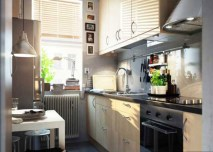 built-in-oven-small-kitchen-remodel-ideas