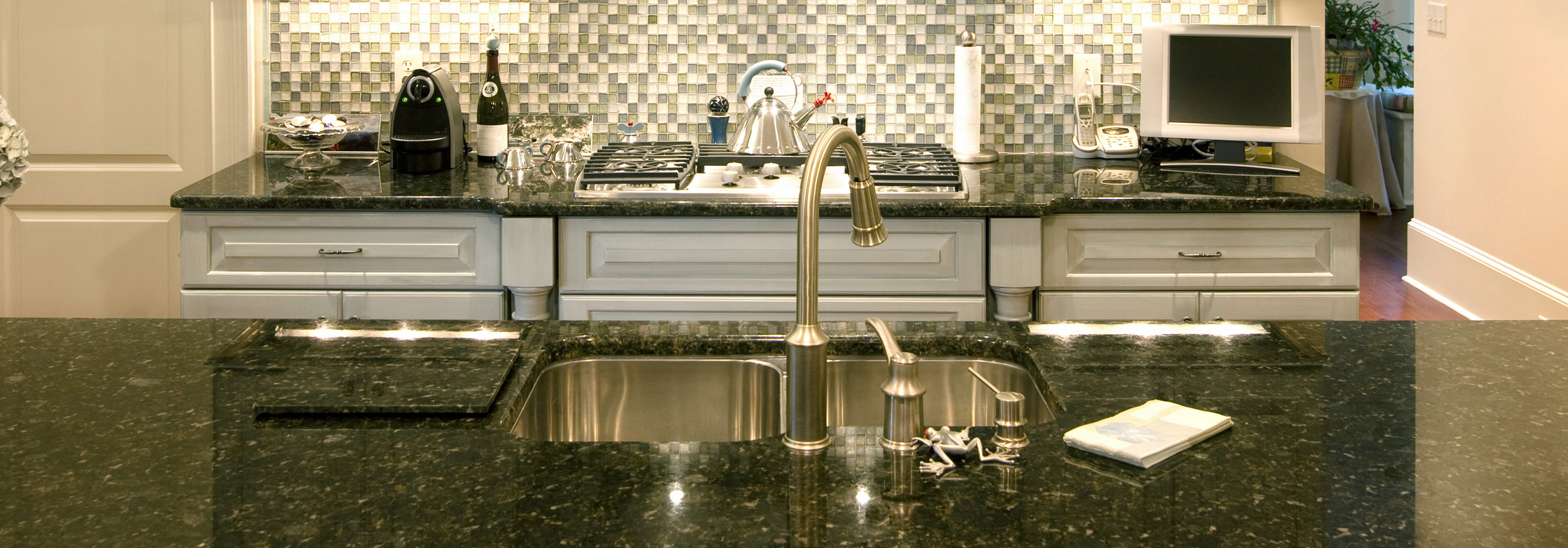 kitchen faucet prices install or