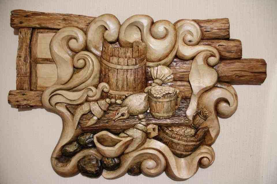 панно из дерева картинки днем ангела