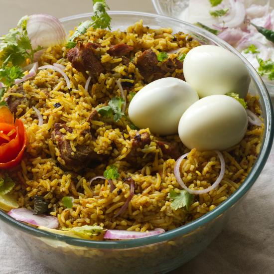 Mutton Biryani for BEginners