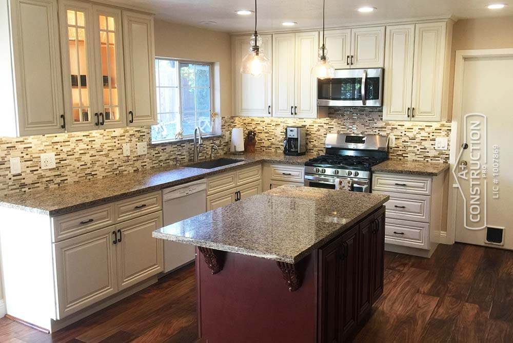 Kitchen Cabinets Remodeling Sacramento  A Construction Pro
