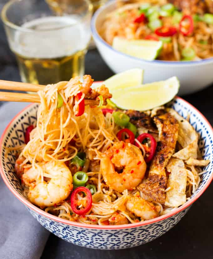 30 minute Malaysian Mee Siam - Nicky's Kitchen Sanctuary