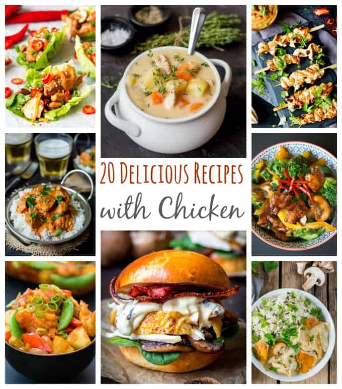 20 'What Can I Make With Chicken?' Recipes