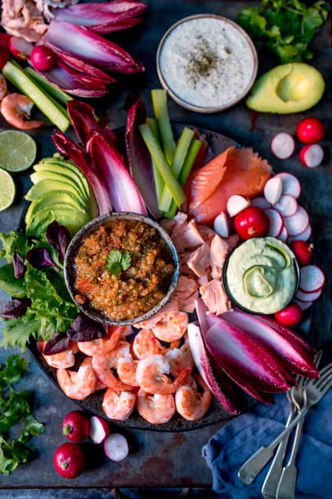 Christmas Seafood Platter Recipes : christmas, seafood, platter, recipes, Seafood, Party, Platter, Three, Nicky's, Kitchen, Sanctuary