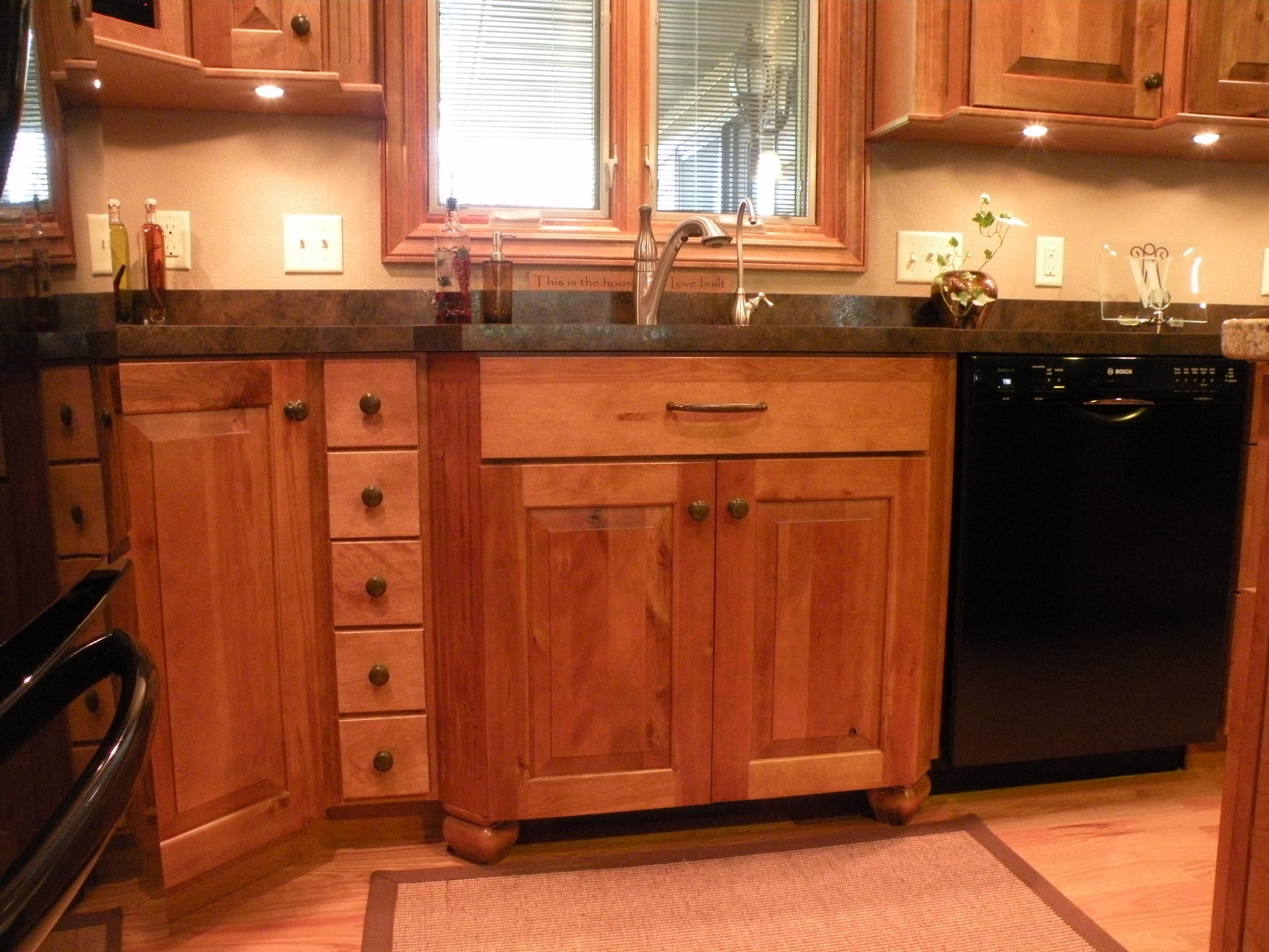 Kraftmaid Durango Rustic Birch Praline  Kitchens  Baths