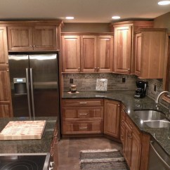 Kraftmaid Kitchens Gallery Kitchen Cabinets Dayton Ohio Hickory Sunset Marquette Cabinetry! | ...