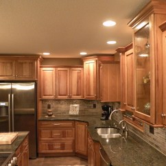Kraftmaid Kitchens Gallery Outside Kitchen Plans Hickory Sunset Marquette Cabinetry