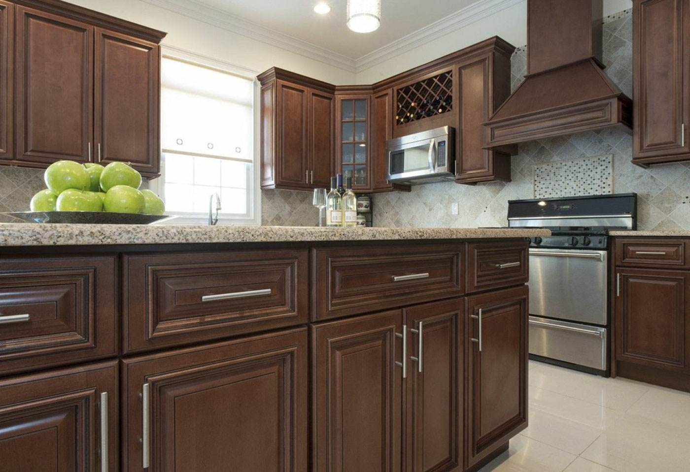 all wood kitchen cabinets unfinished pine sierra brown