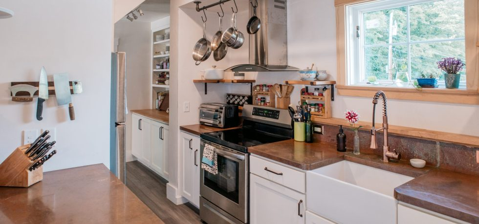 Eco-friendly kitchen renovation