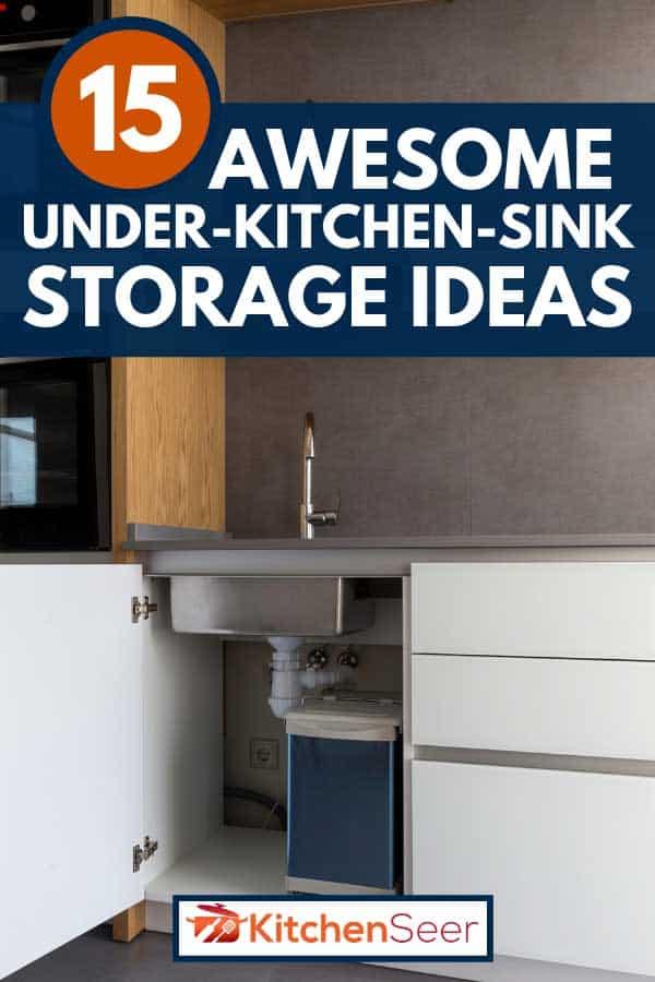 15 awesome under kitchen sink storage