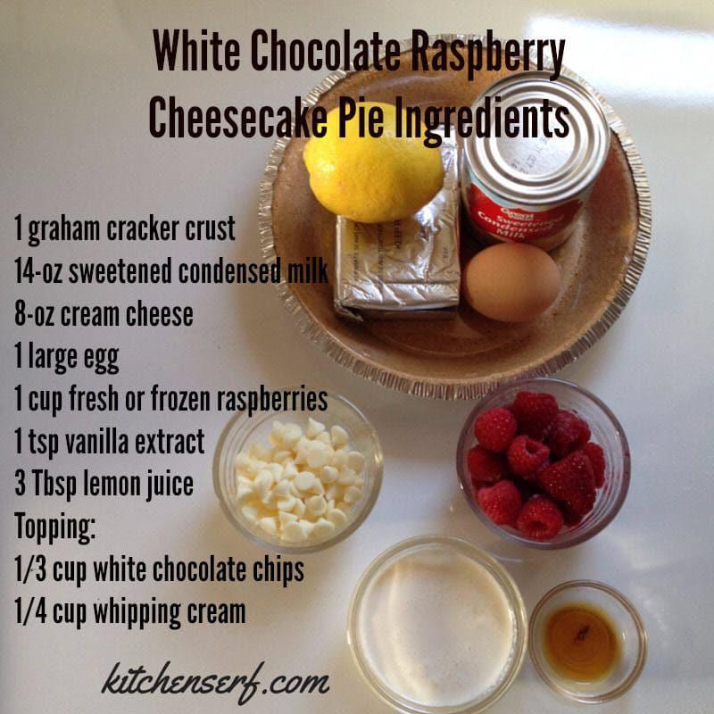 Raspberry Cream Cheese Pie