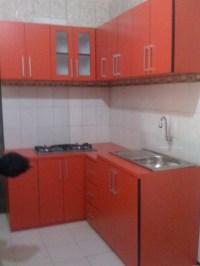 kitchen set finishing HPL motif warna ...