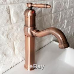 antique copper vessel sink faucet kitchen bathroom basin single handle mixer tap