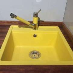 Colored Kitchen Sinks Light Cover Colour Taps Coloured